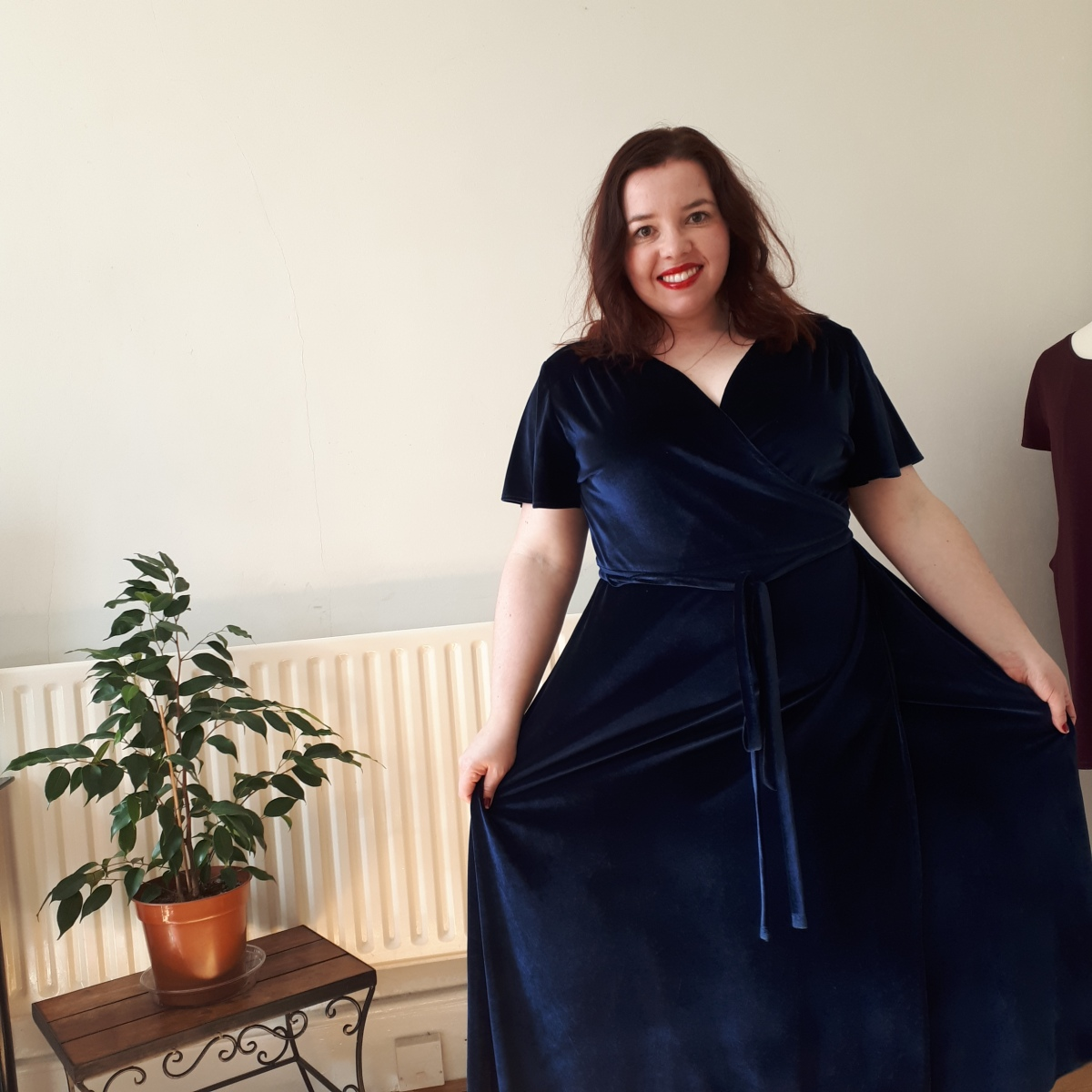 Soft and glamorous velvet Eve Dress by Sew Over It – Dressmaker ball 2019