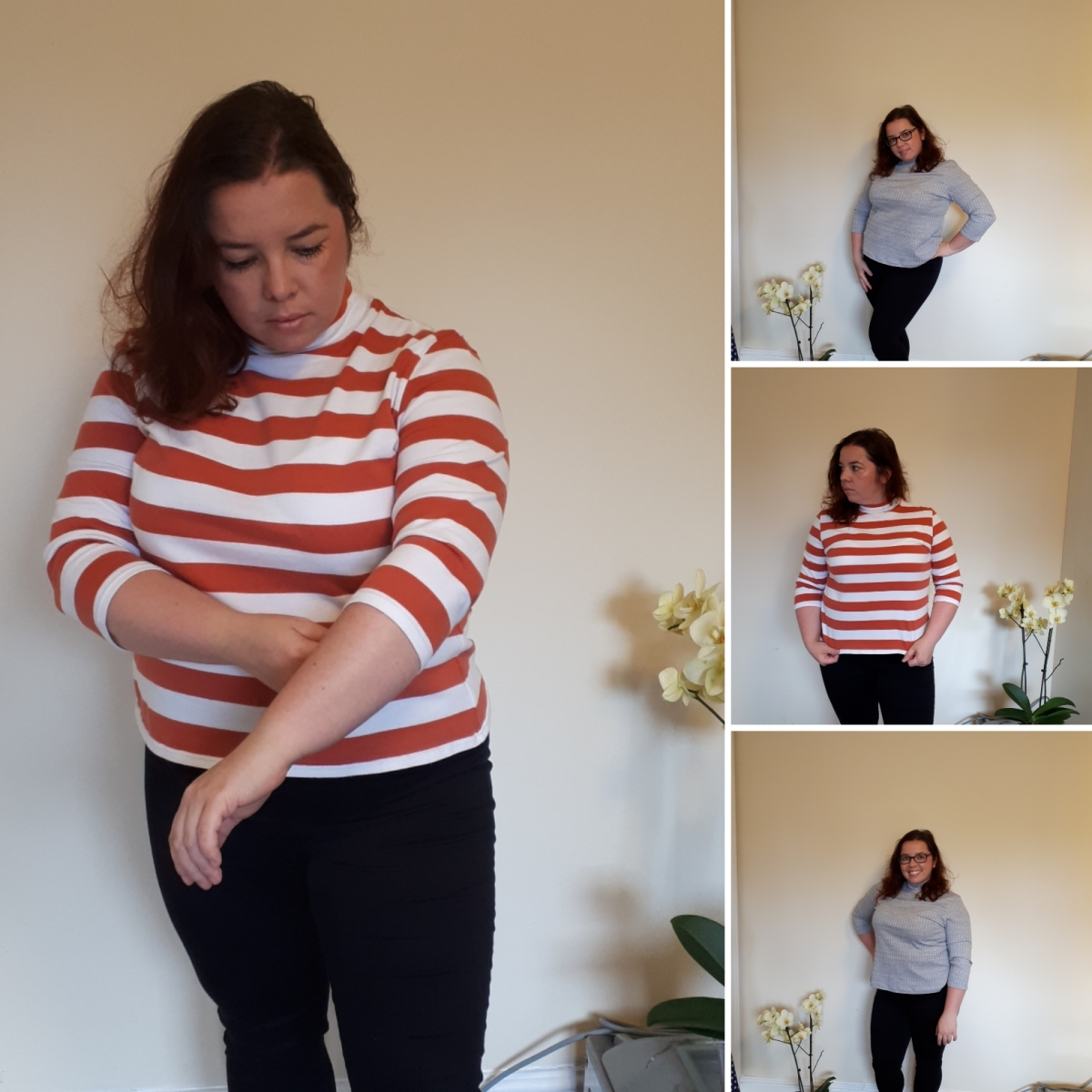 Tale of two Freya tops (Tilly and the Buttons)