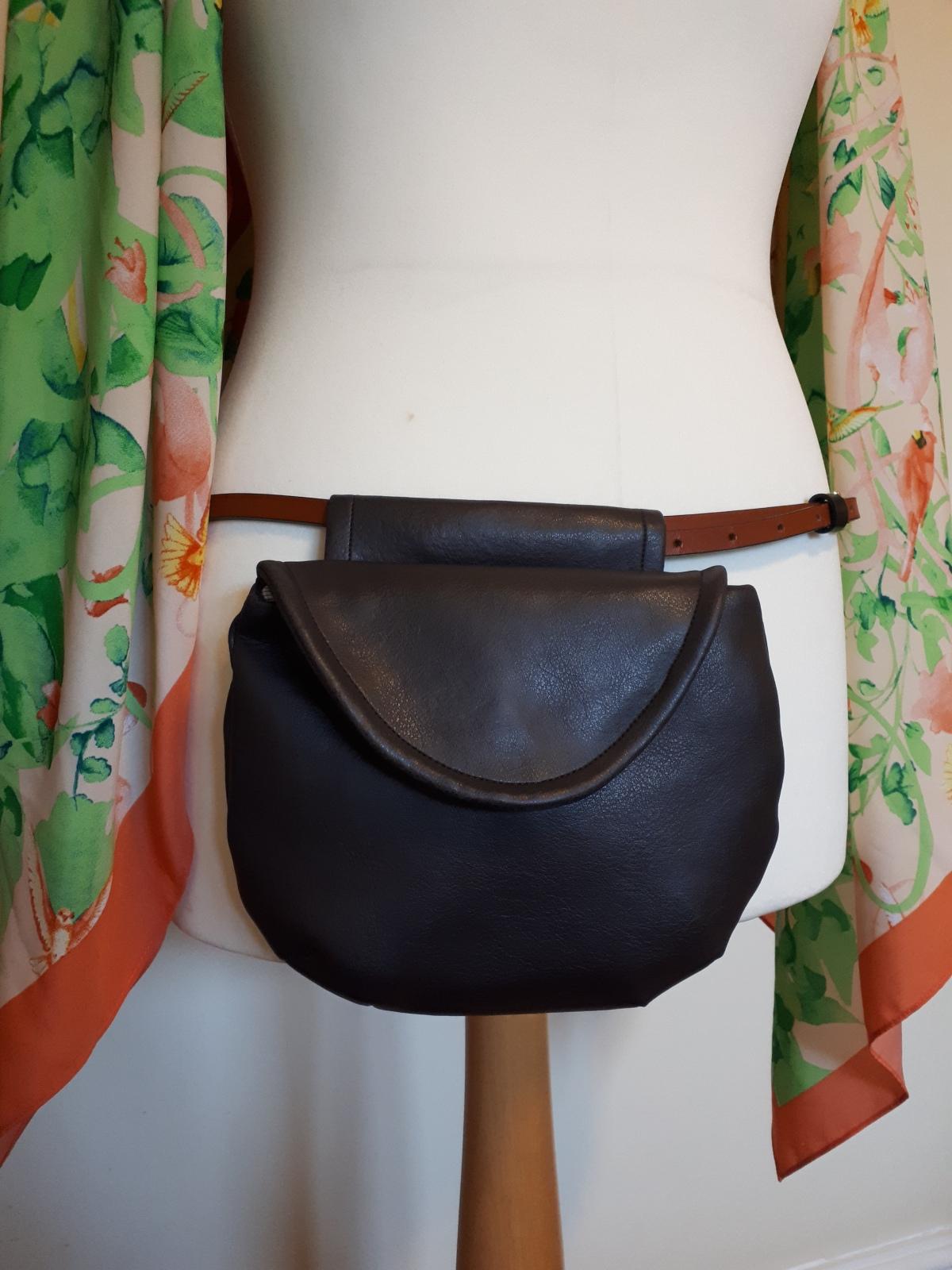 Free PDF belt bag pattern + sewingtutorial
