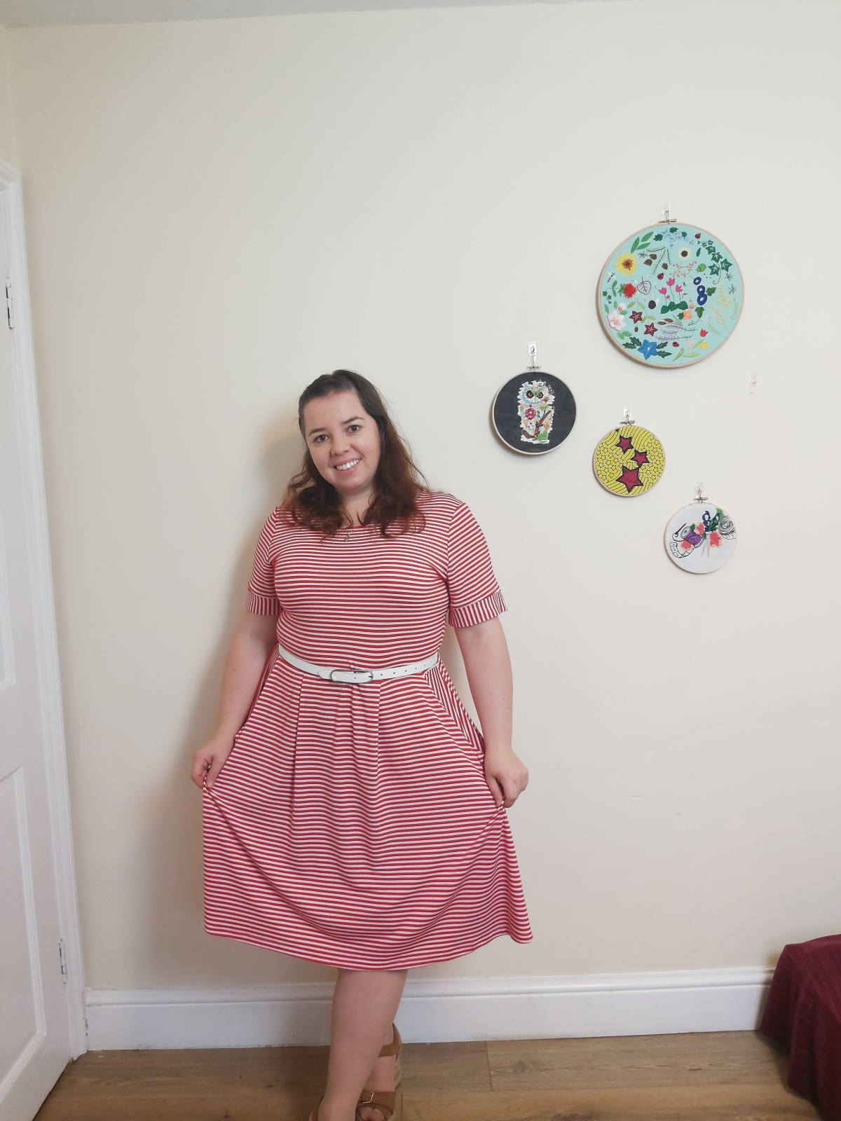 Nemesia dress by Glasshouse Patterns- pattern testing