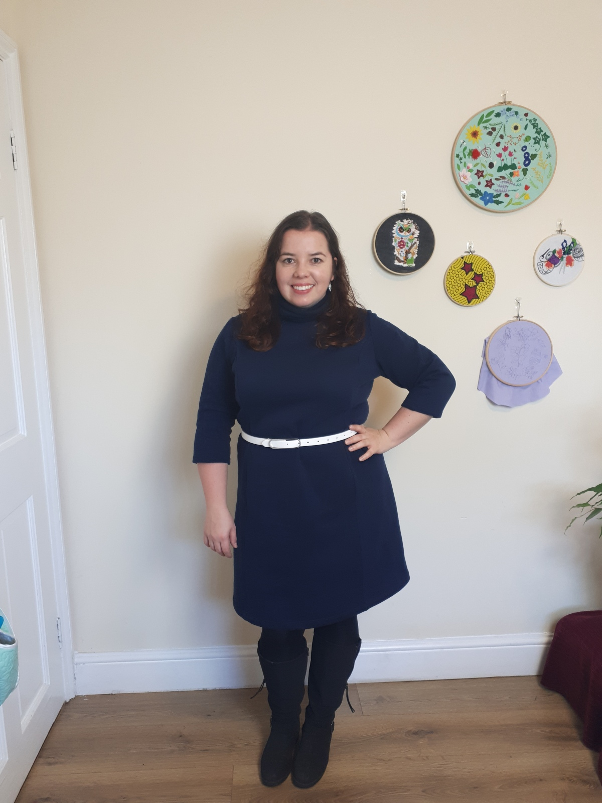 Perfect for Winter -Pisco dress – hacking thepattern