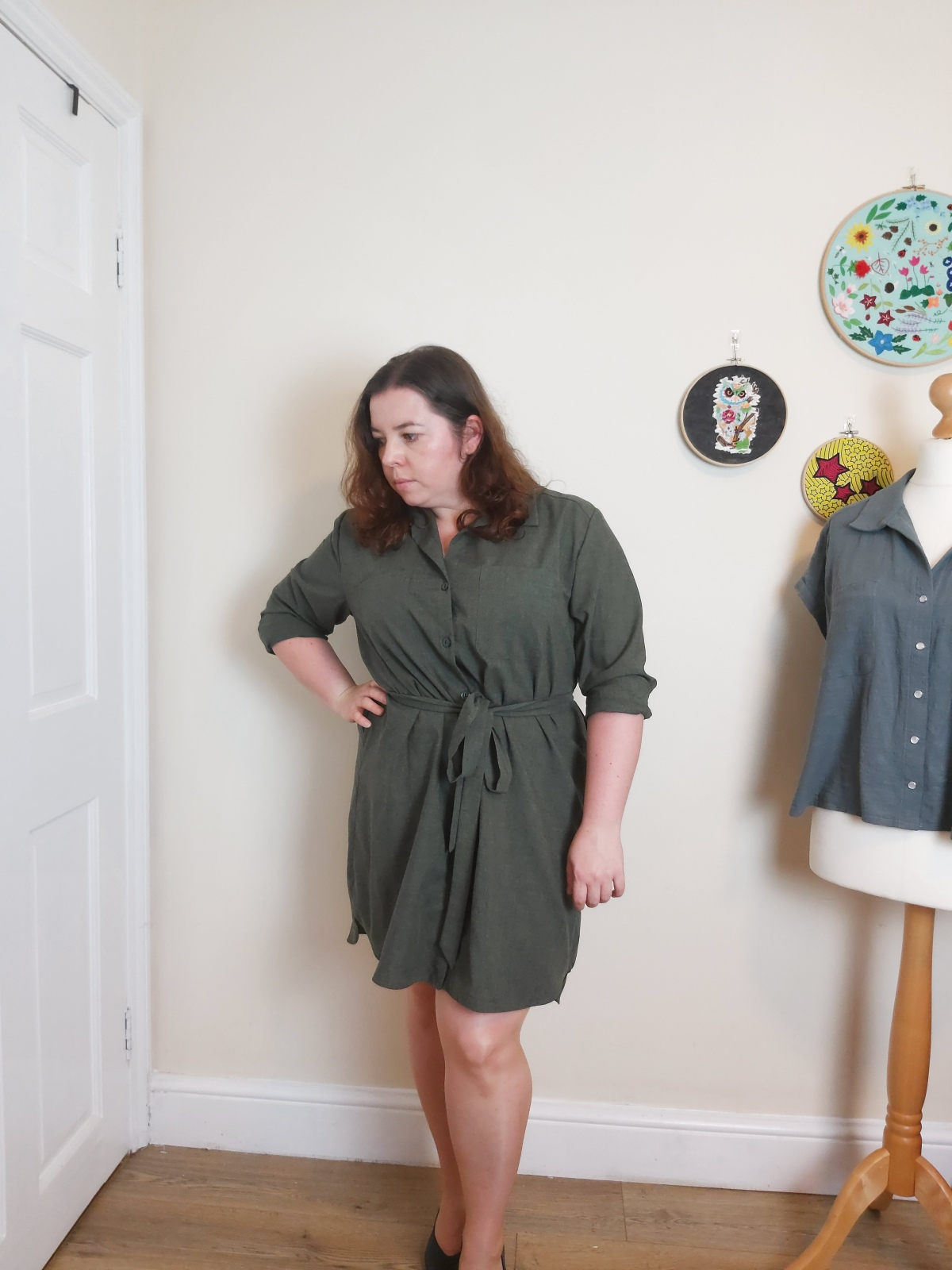 Alex shirtdress – 3 ways to wear